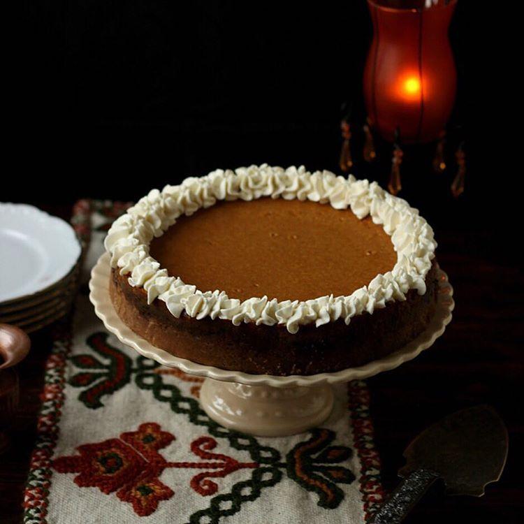 Hoy una receta otoal e irresistible Pastel de calabaza yhellip