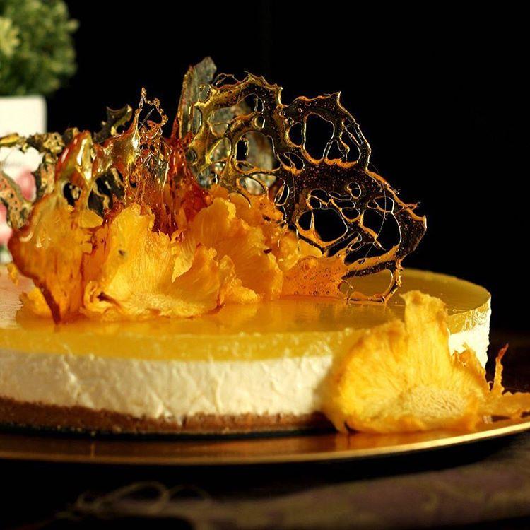 Si buscis un postre fresco y rico ste Cheesecake dehellip