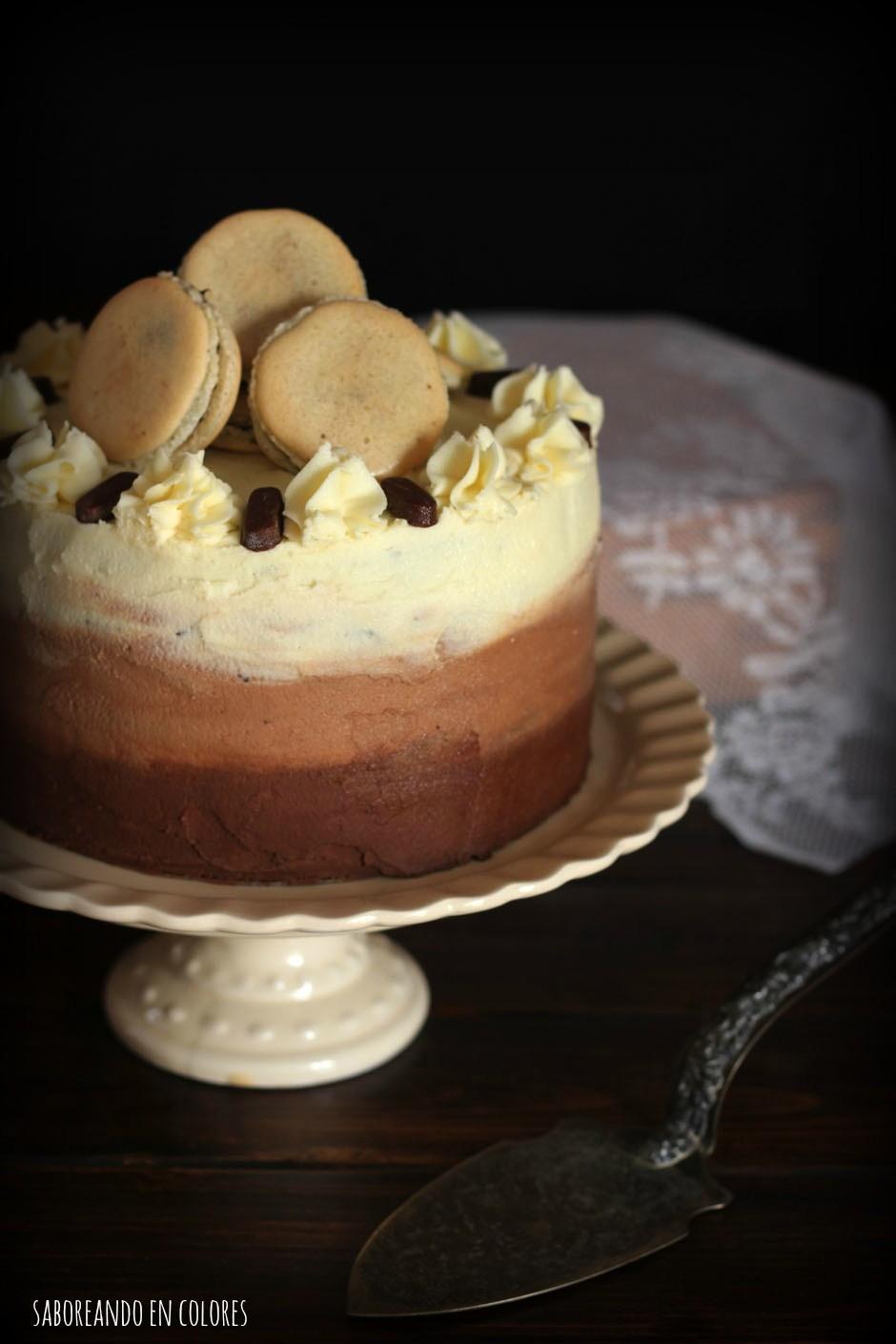 ombre cake de chocolate2