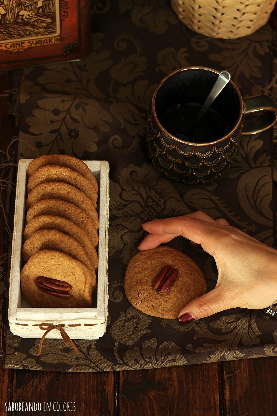 galletas con nueces